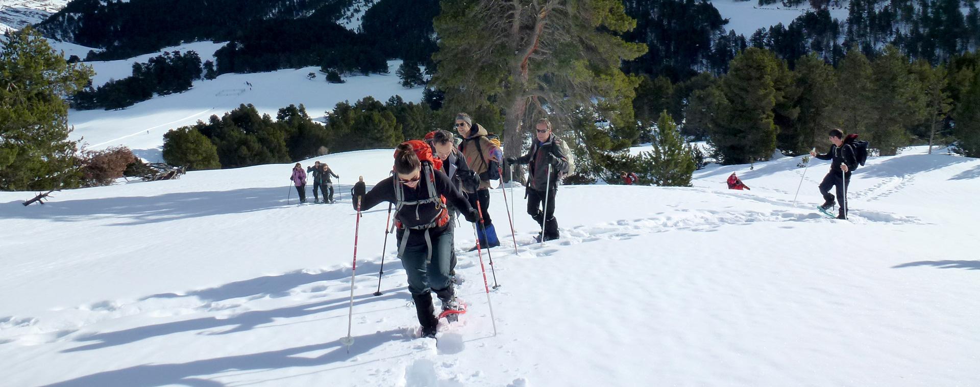Voyage à pied : Réveillon dans le val d\'Aran