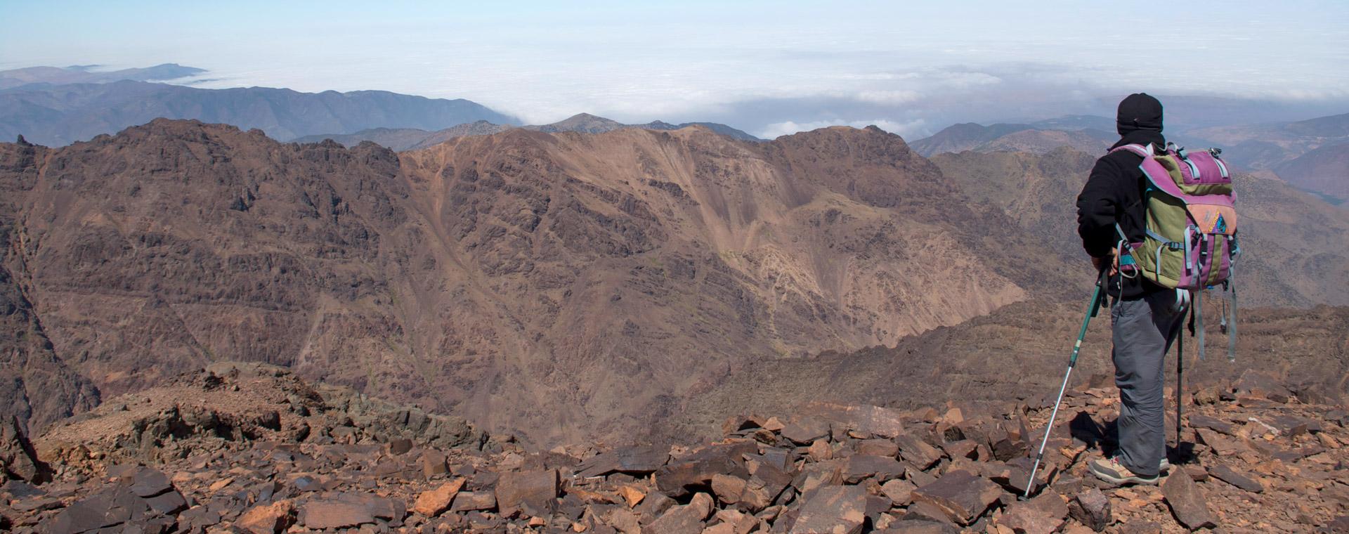Image Randonnée au Maroc et ascension du Toubkal