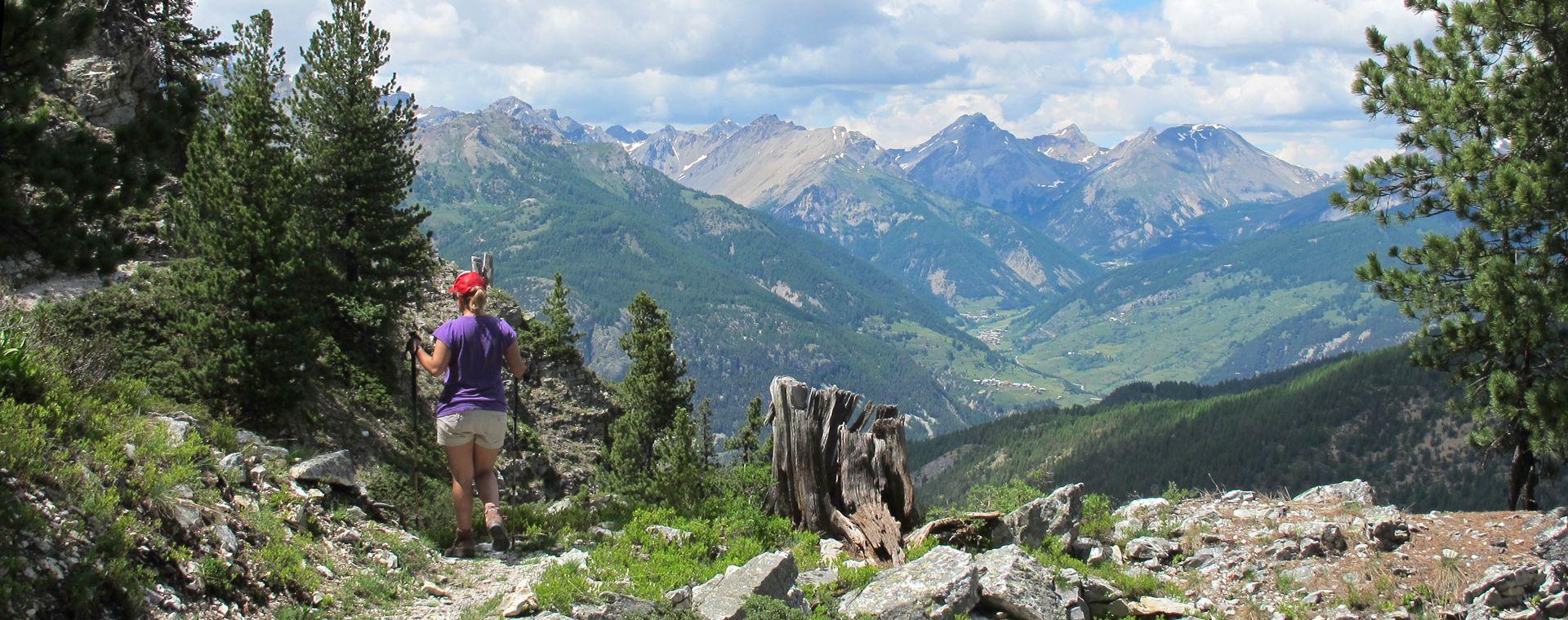 Voyage à pied : Tour du Queyras en gîtes