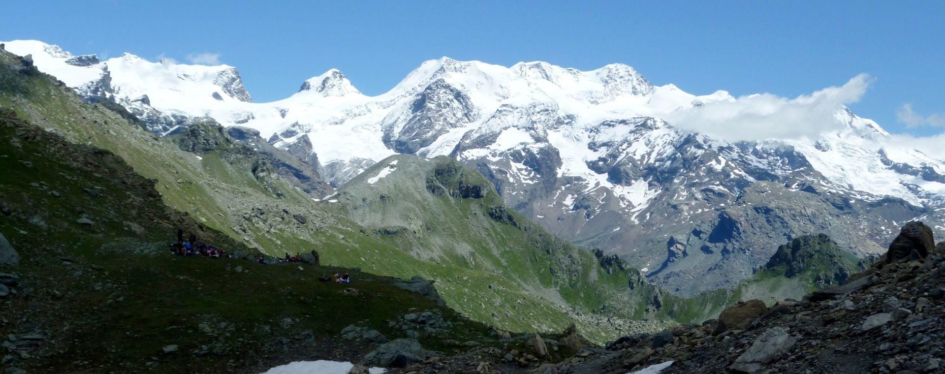 Voyage à pied : Val d\'Aoste et Cervin en étoile