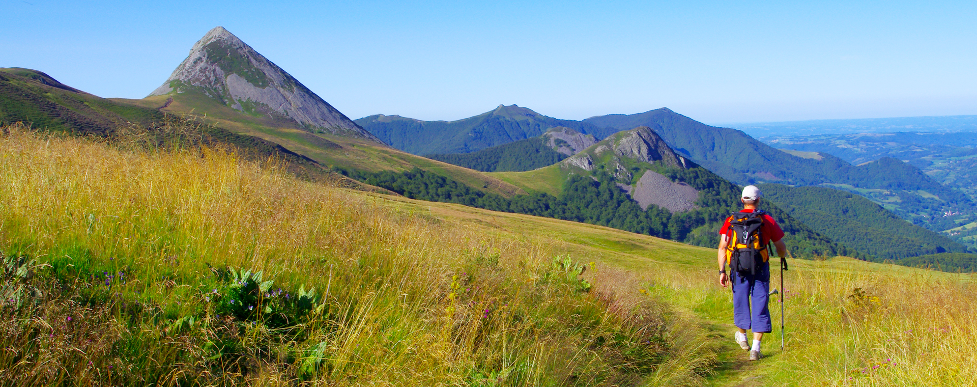 Image Grande Traversée du Massif central, du massif du Sancy au Cantal
