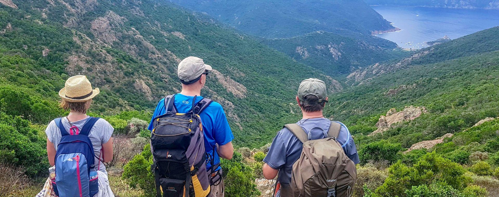 Voyage à pied : Mare e Monti de Piana à Calvi