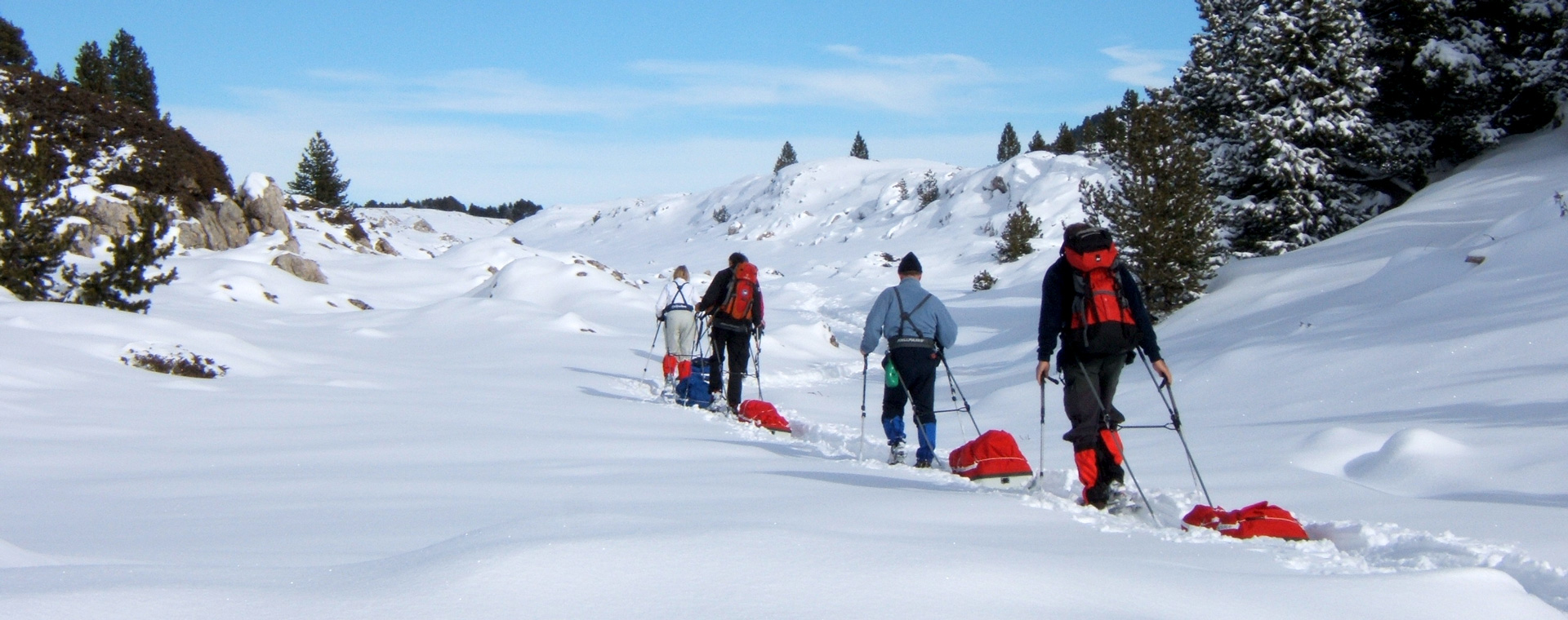 Voyage à pied : Réveillon et Igloo sur les hauts plateaux du Vercors