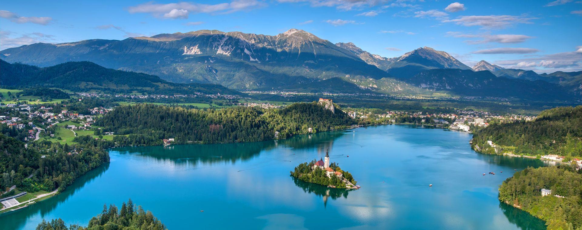 Image Des Alpes slovènes à la mer Adriatique
