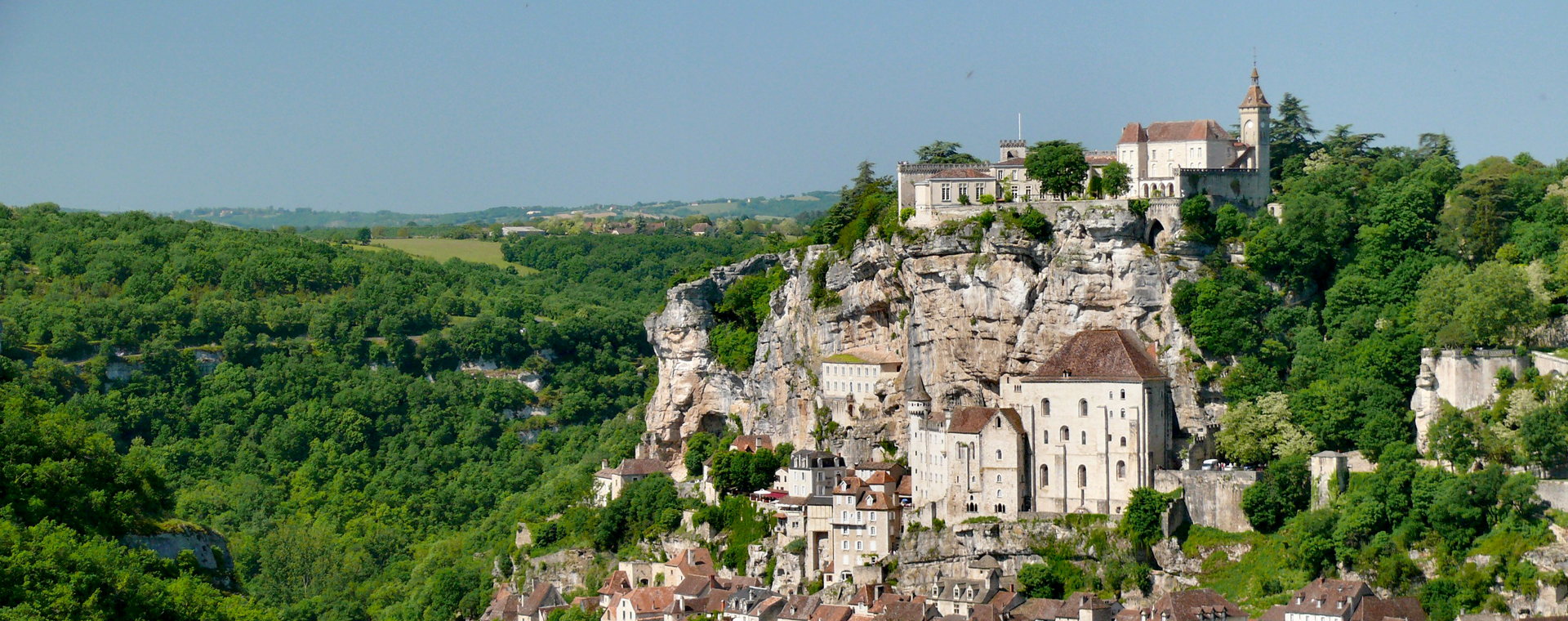 Image Chemins de Saint-Jacques : Randonnée de Conques à Cahors par Rocamadour