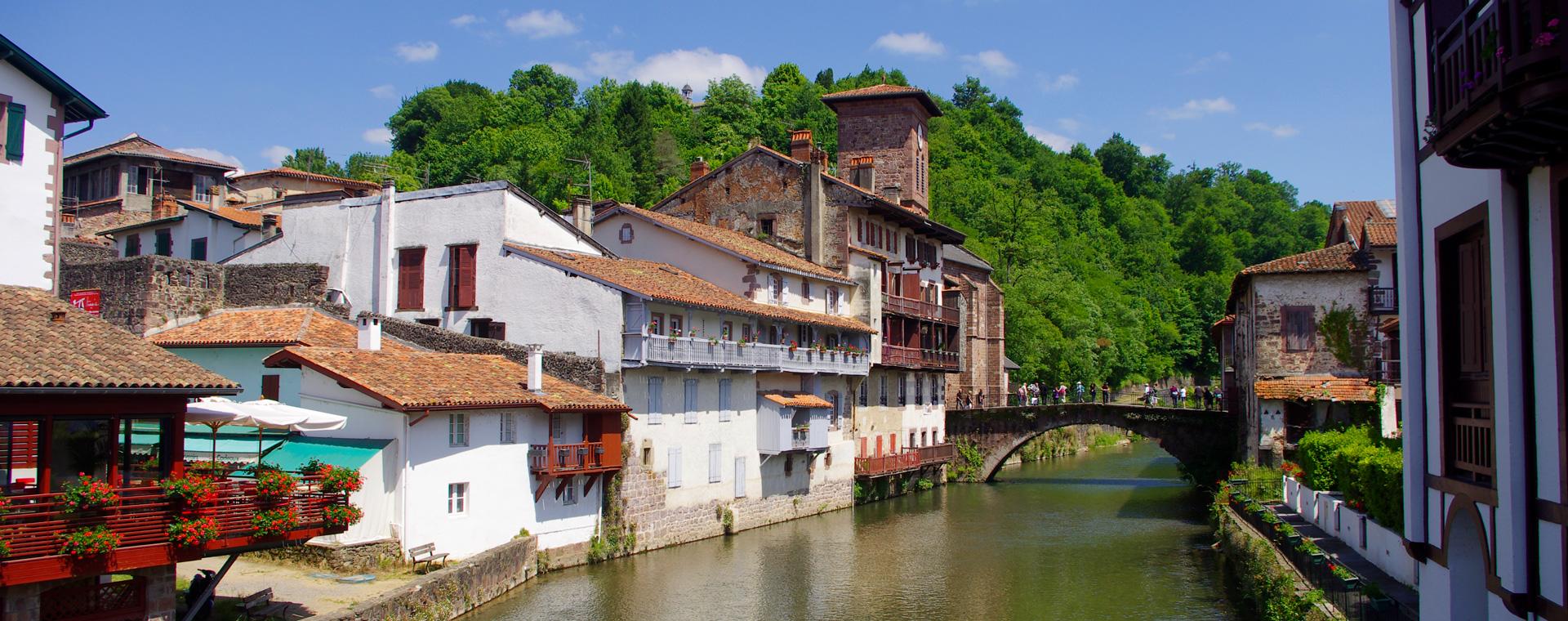 Image Chemins de Saint-Jacques : randonnée d'Aire-sur-l'Adour à Saint-Jean-Pied-de-Port