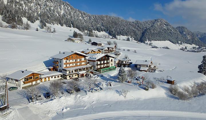 Séjour en raquettes à Walchsee, dans le Tyrol