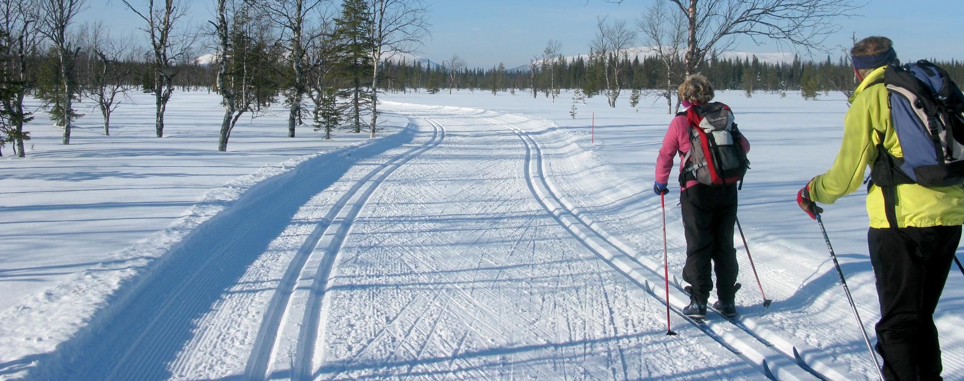 Voyage à pied : Äkäslompolo, Laponie finlandaise