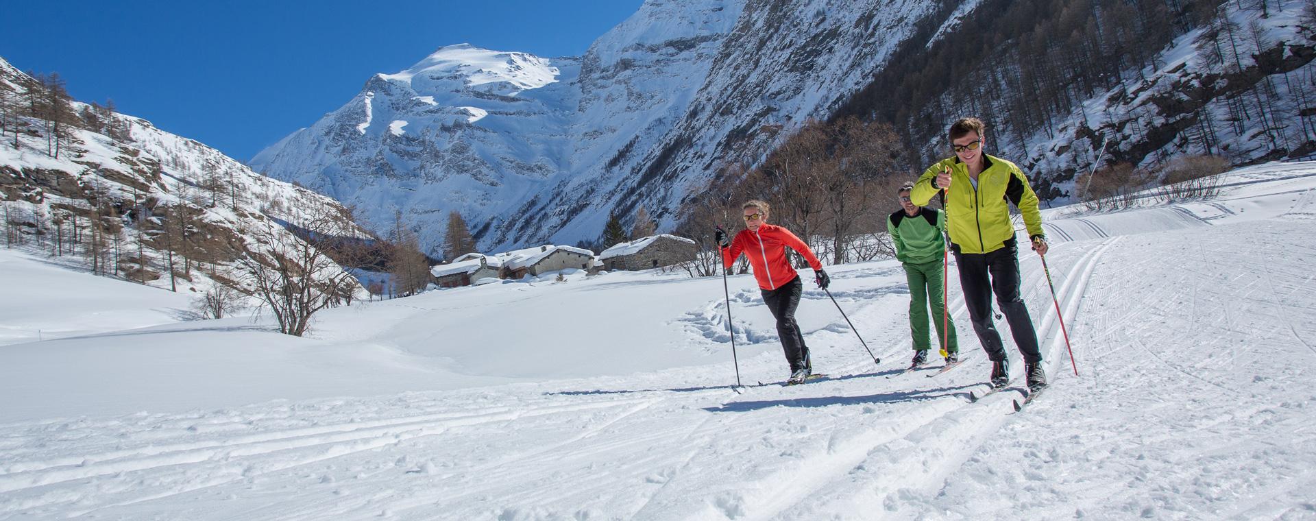 Image Initiation au ski de fond à Bessans