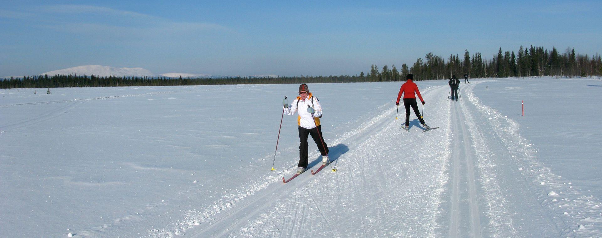 Image Laponie finlandaise : Äkäslompolo, séjour à l'hôtel Seita