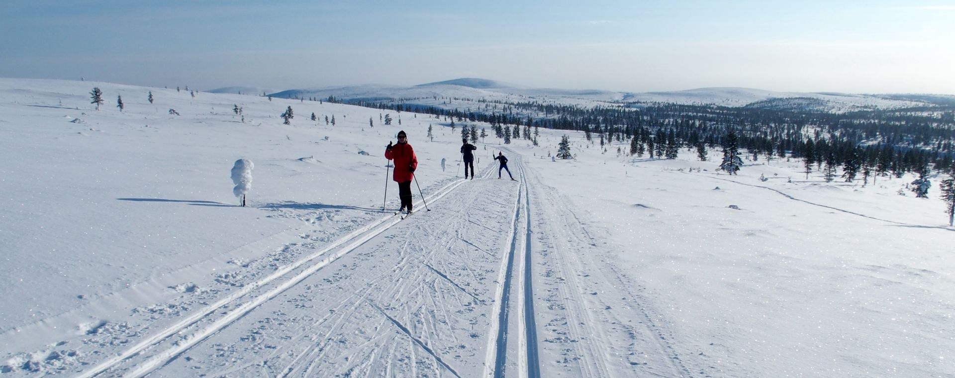 Voyage à la neige Finlande : Laponie finlandaise : Kiilopää