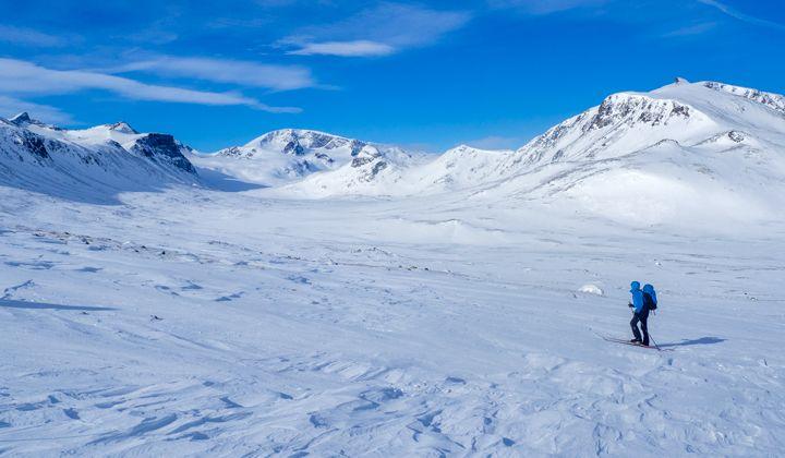 Ski de randonnée nordique sur le tour de Jotunheimen, en Norvège