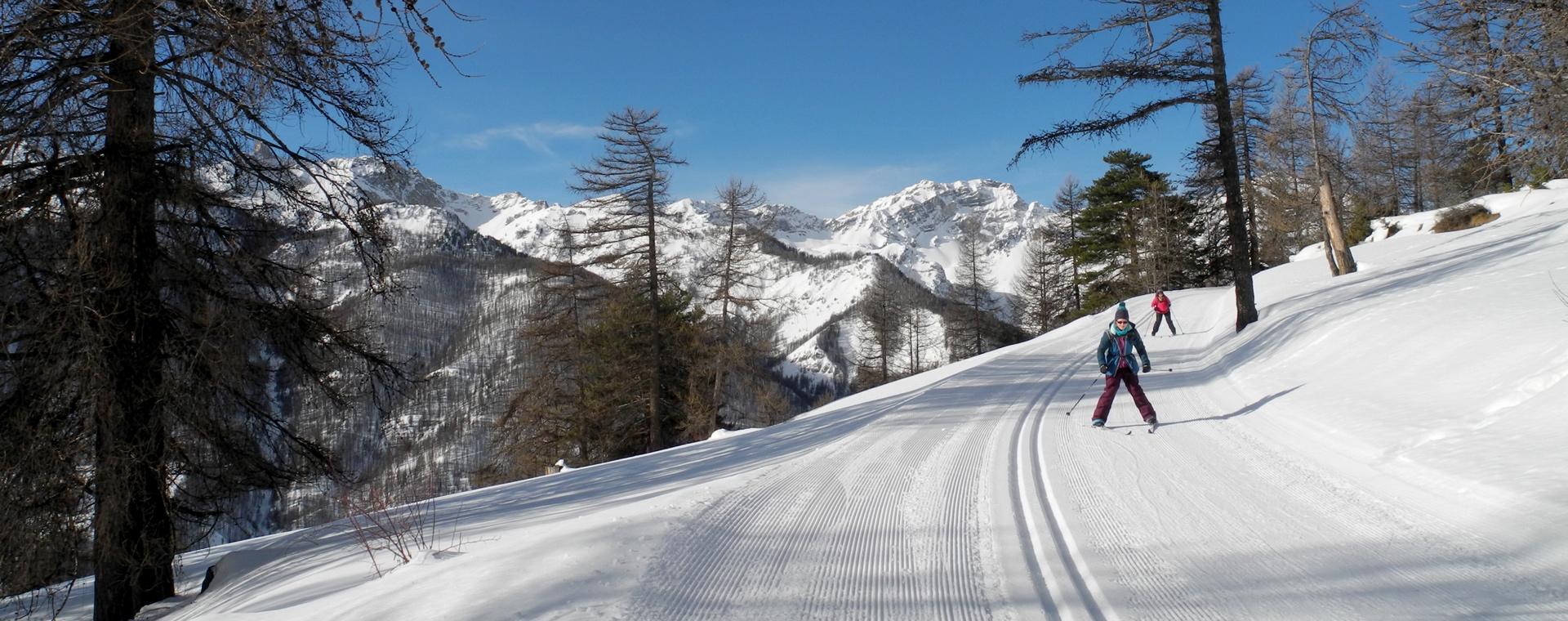 Voyage à la neige : Queyras, montagne de lumière