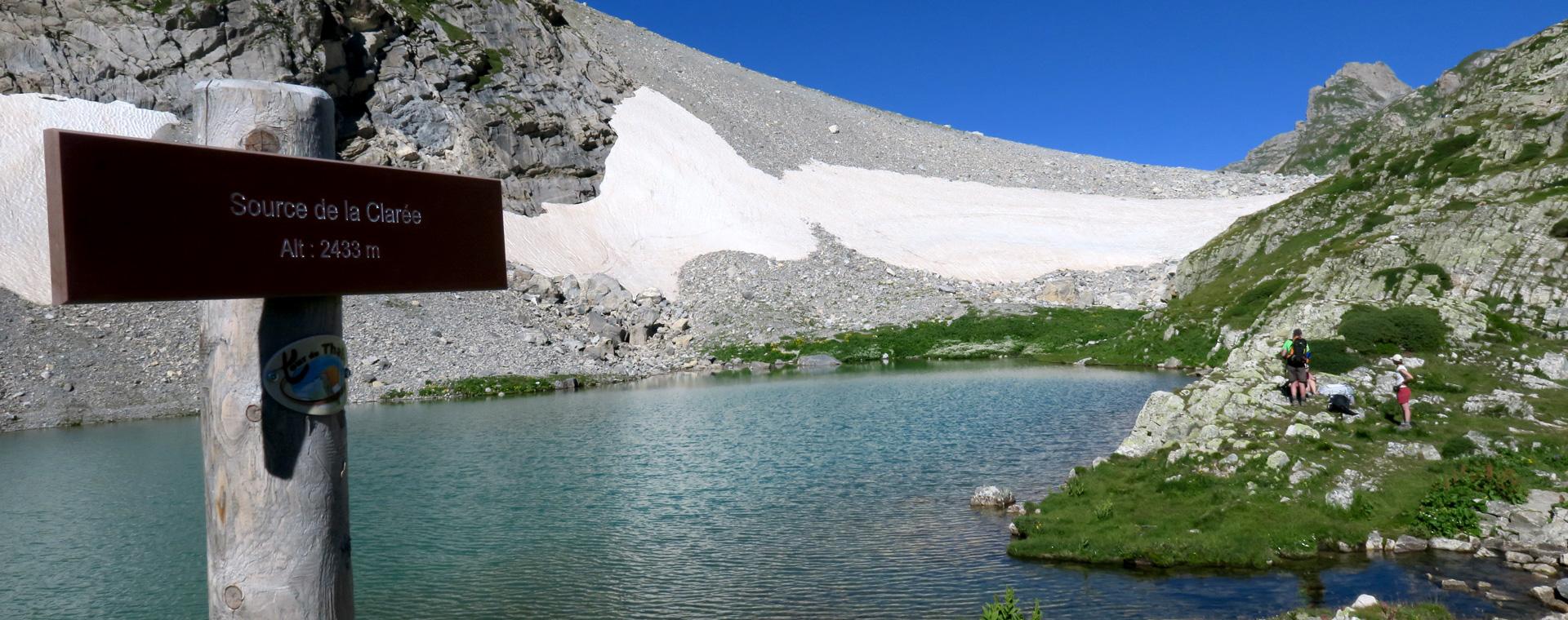Voyage à pied : Du parc des Écrins à la vallée de la Clarée