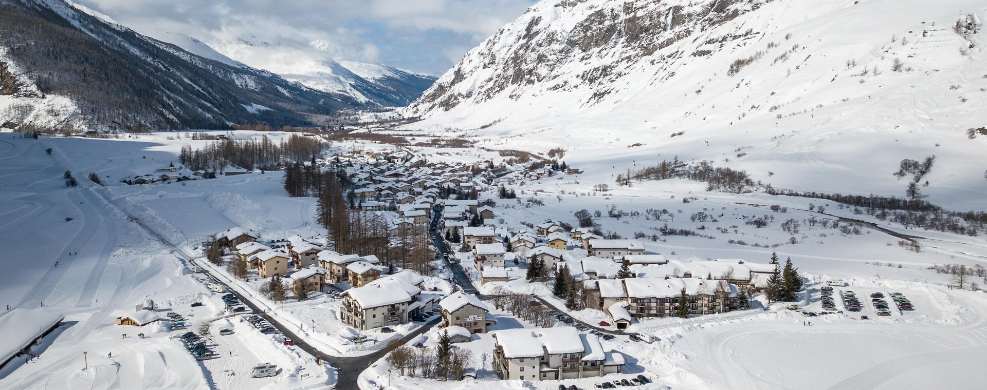 Image Randonnée à ski de fond à Bessans