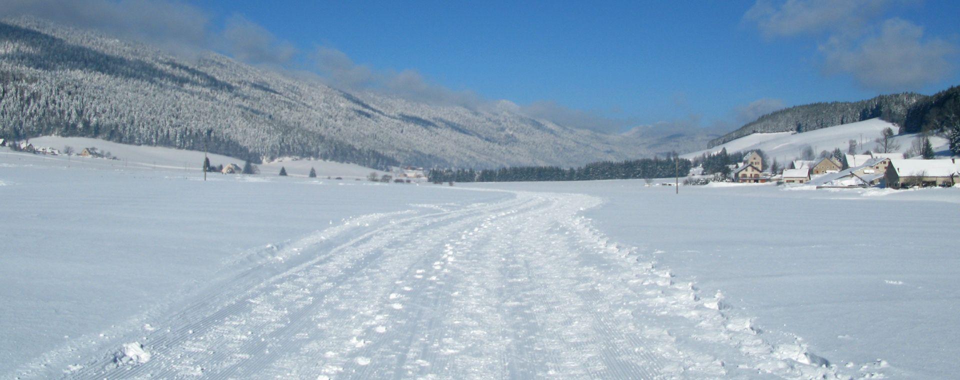Voyage à la neige France : Ski de fond à Autrans-Méaudre en Vercors