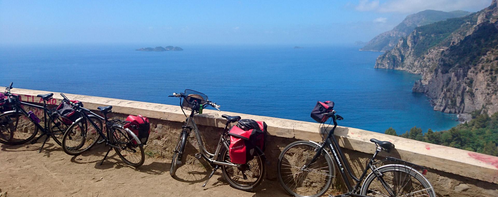 Image La Côte amalfitaine à vélo bateau
