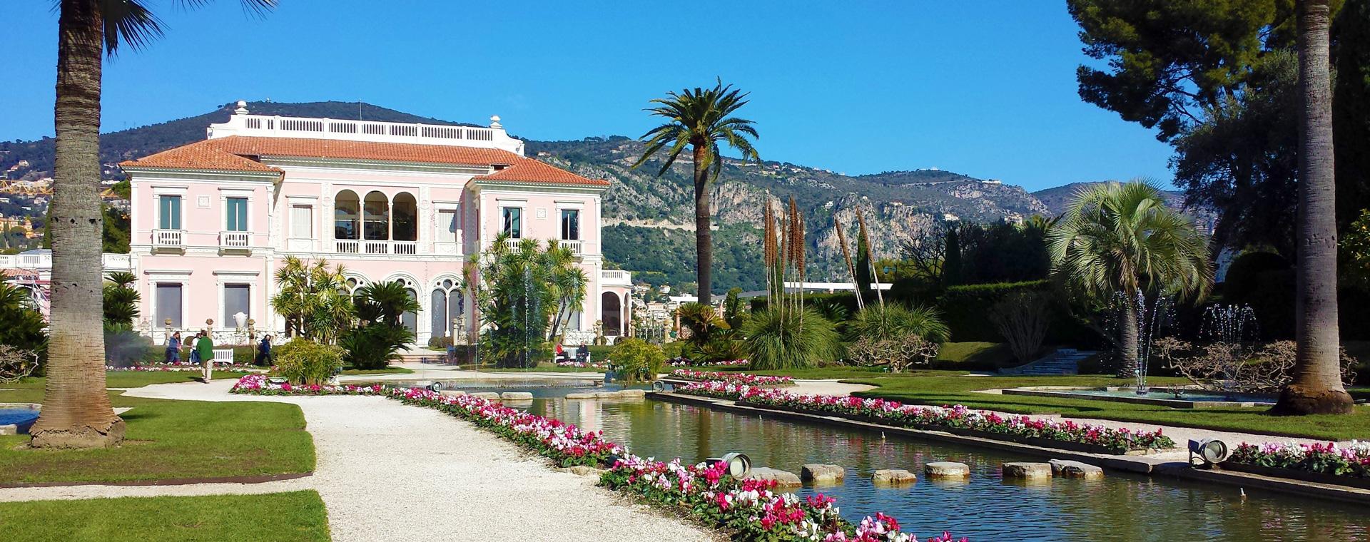 Voyage à pied : Provence : Jardins et Villas de la Côte d\'Azur