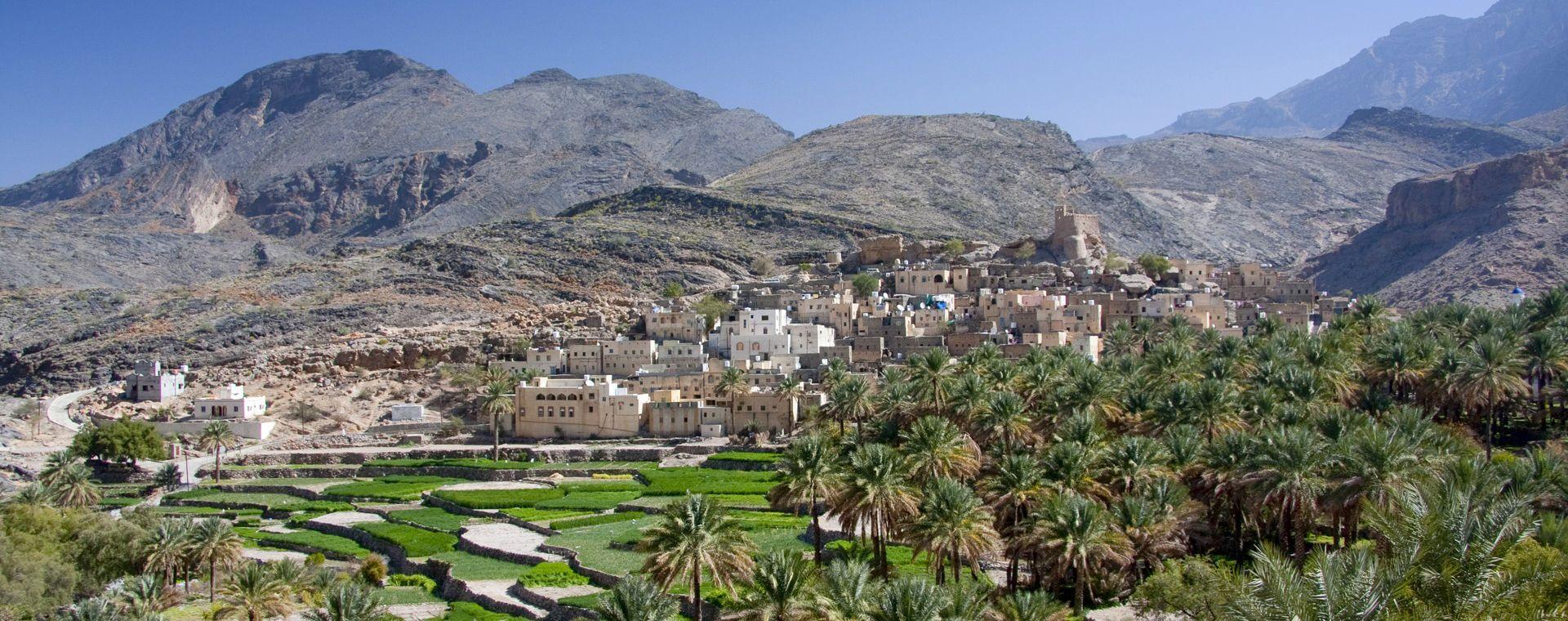 Image Sentiers d'Oman : montagnes, dunes et canyon