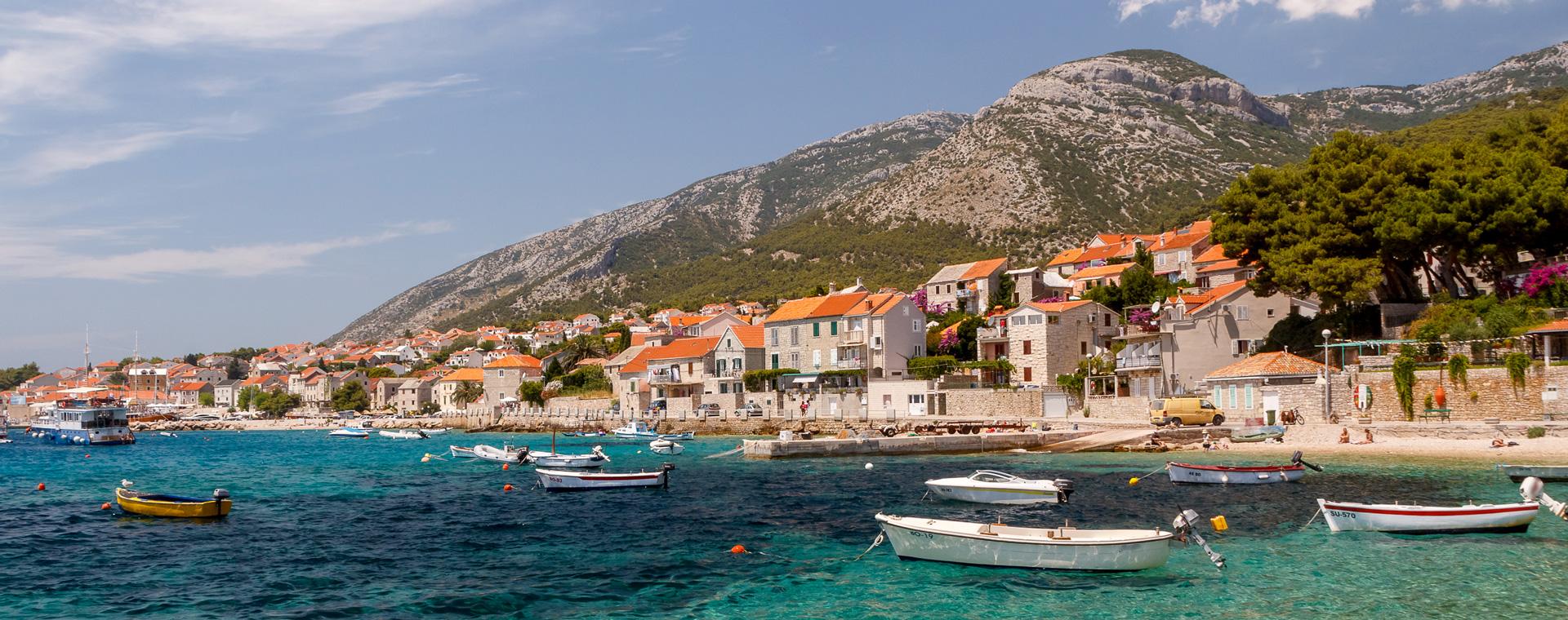 Image Le Sud de la Dalmatie à vélo bateau