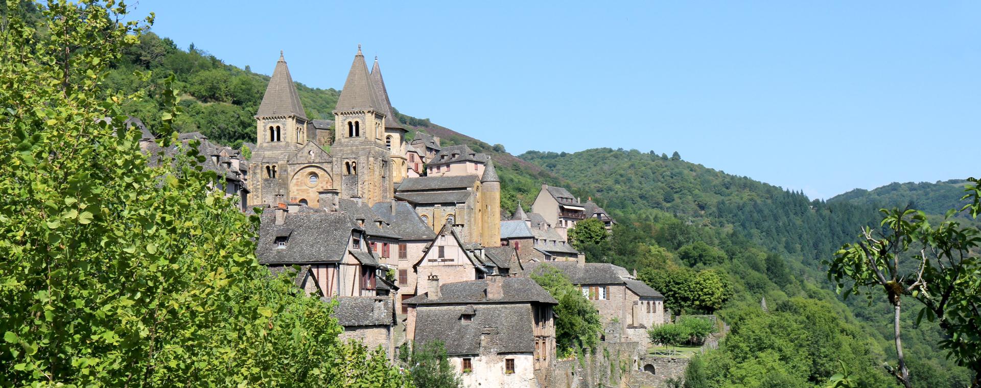 Image Chemins de Saint-Jacques : randonnée de Conques à Cahors