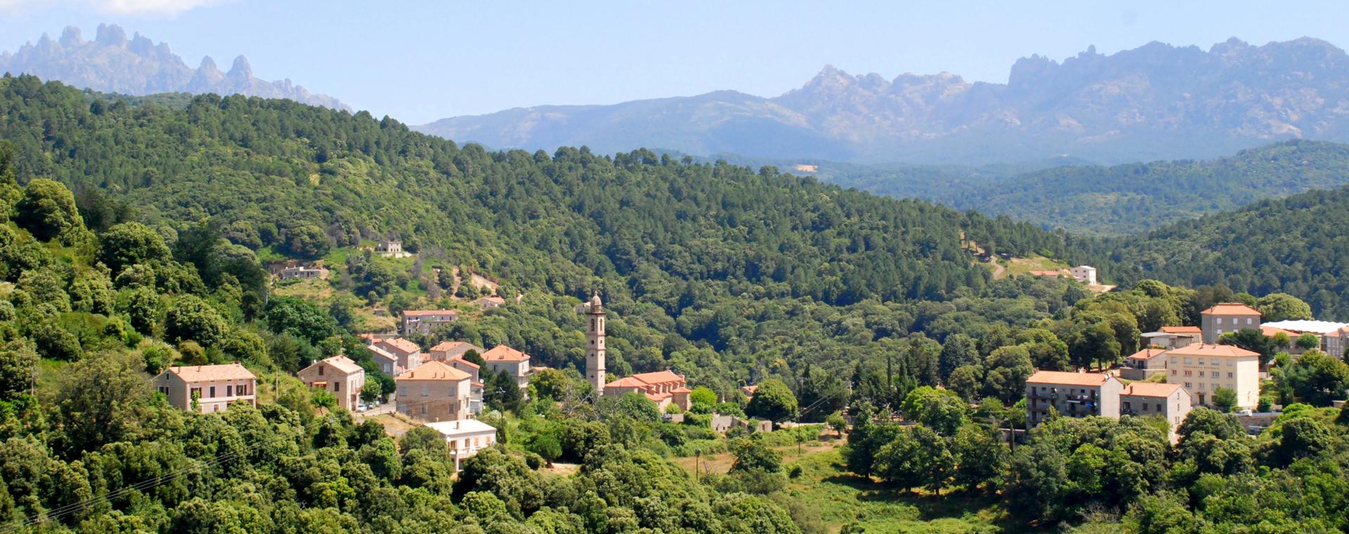 Voyage à pied : Corse : Mare e Monti de Porto Vecchio à Propriano