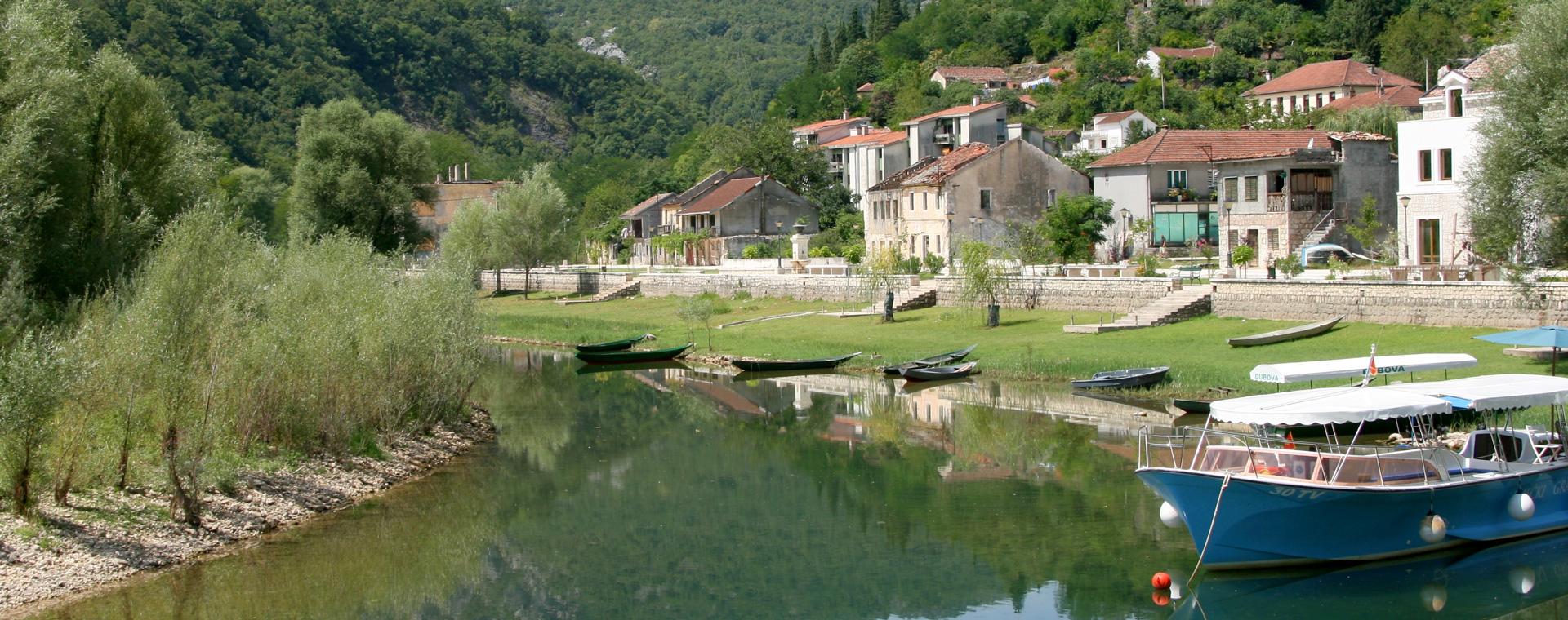 Image Littoral du Monténégro et lac de Skadar à vélo
