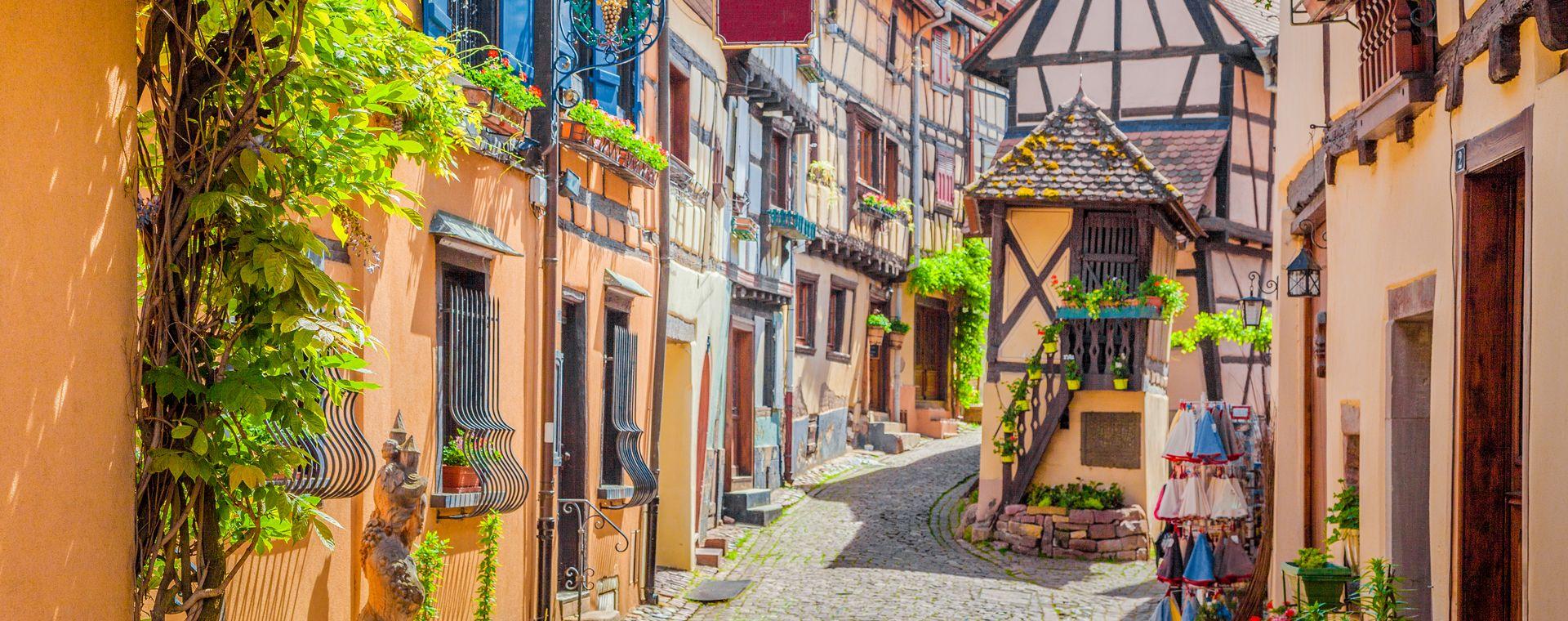 Image L'Alsace entre vignobles et  villages médiévaux