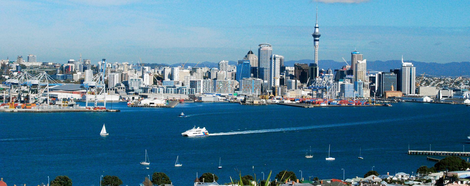 Voyage à pied : Îles du Nord et du Sud de la Nouvelle-Zélande