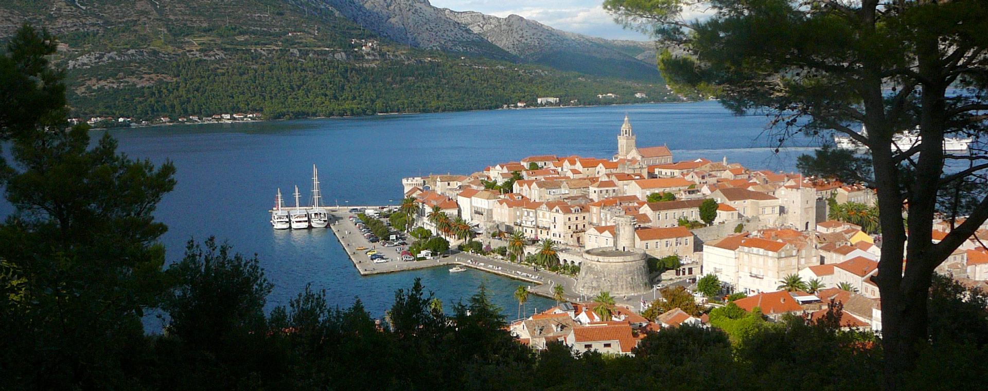Voyage à pied : Les Plus beaux sites de la Dalmatie