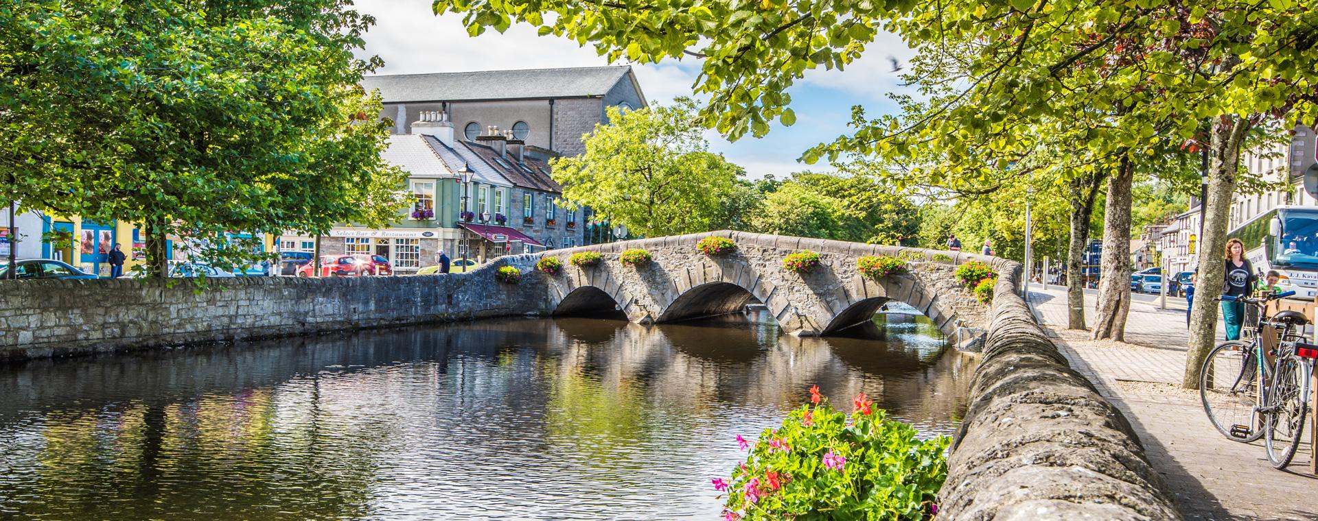 Image Irlande, les montagnes du Connemara à vélo